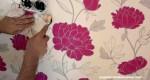 Cómo colocar papel pintado
