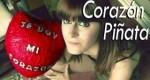 Corazón piñata para San Valentín