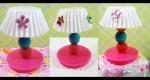Lámpara para casa de muñecas