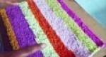 Hazte una una bonita alfombra